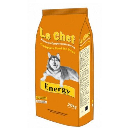 LE CHEF Energy Dog Adult sausā barība pieaugušiem darba, medību un aktīviem suņiem 20 kg